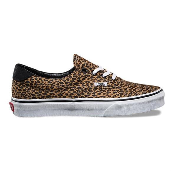 9d72ac72d6 New Vans Era 59 Mini Leopard Women s 9 Mens 7.5